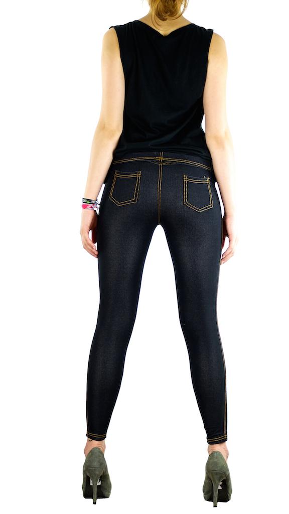 jeans optik damen leggings hose leggins treggings m l xl xxl xxxl 4xl 5xl lang. Black Bedroom Furniture Sets. Home Design Ideas