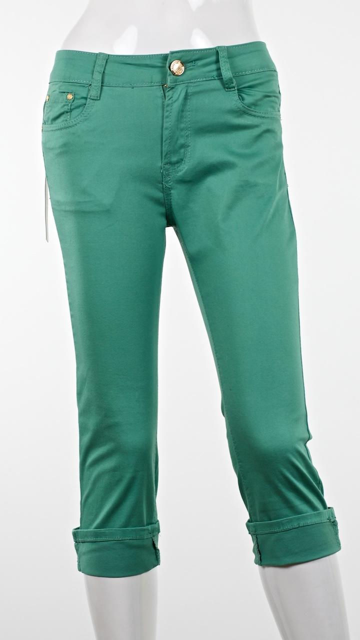 damen capri kurze hose 3 4 jeans shorts damenhose bemuda. Black Bedroom Furniture Sets. Home Design Ideas