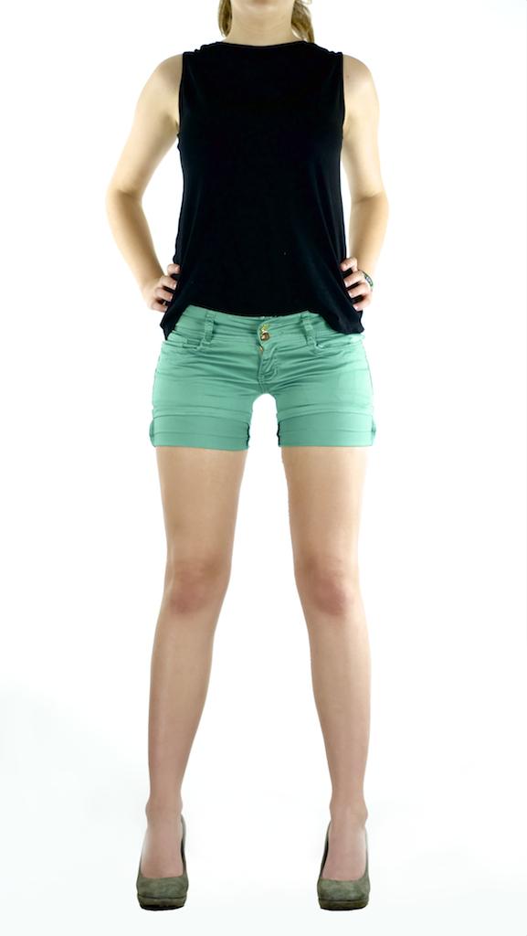 Damen SeXy Shorts kurze Hose Jeans Damenhose Hüft Stretch Pants Bund Gr.34- 44 9a369656a4