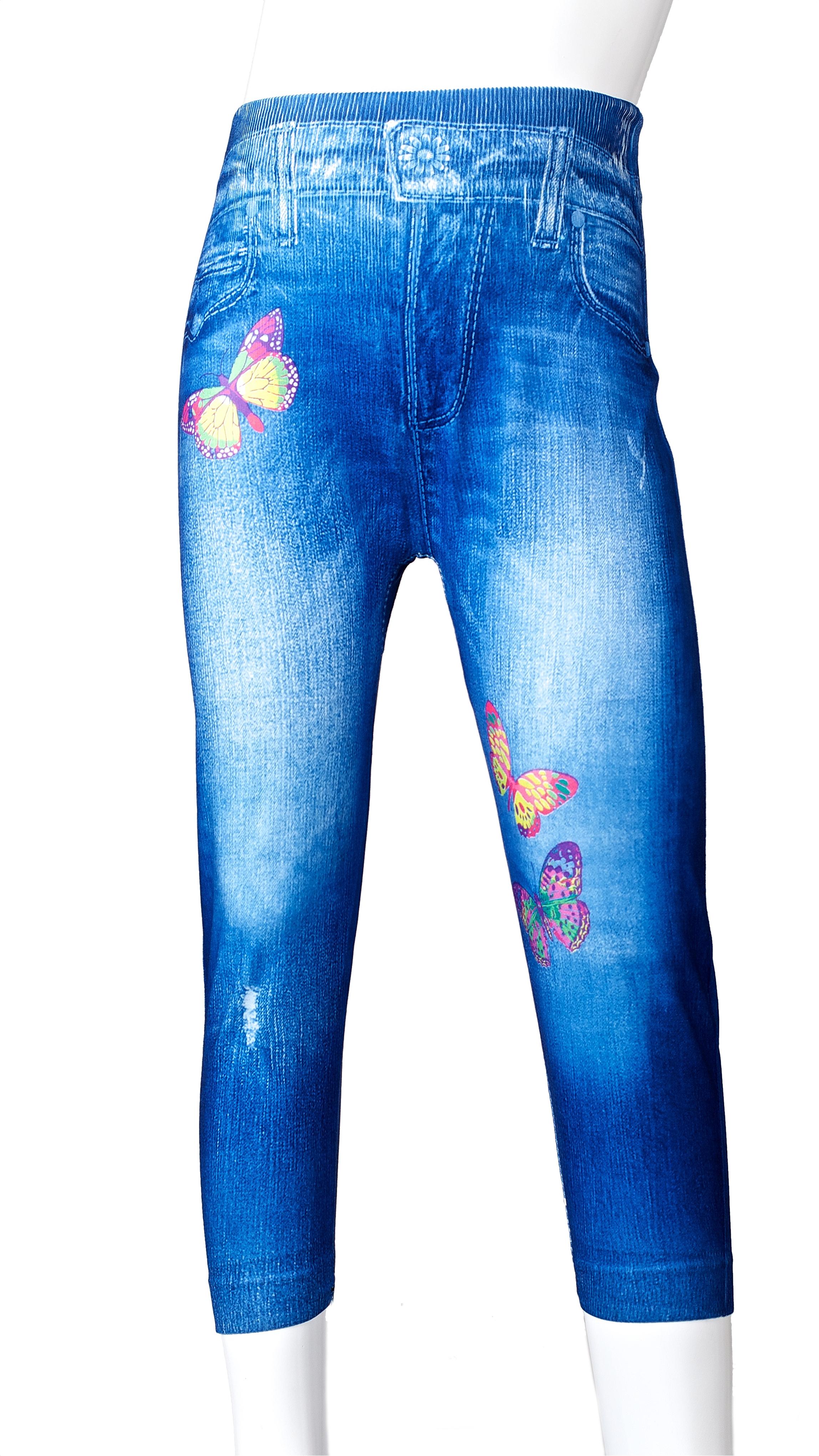 leggings jeans optik kinder m dchen hose jeggings. Black Bedroom Furniture Sets. Home Design Ideas